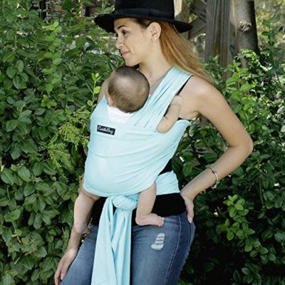 9-in-1 CuddleBug Baby Wrap Sling & Carrier