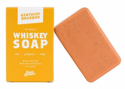 Kentucky Bourbon WHISKEY SOAP - Made With Real Alcohol And In USA