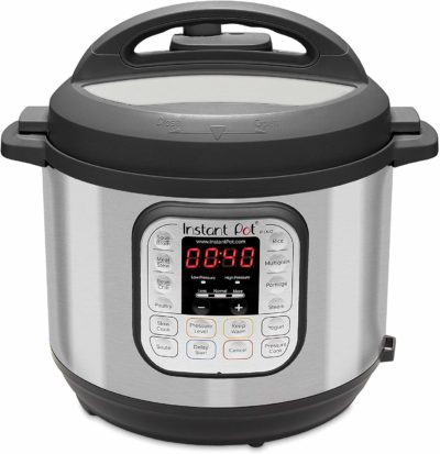 Instant Pot Electric Pressure Cooker, Stainless Steel/Black