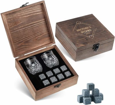 BROTEC Whiskey Stones Gift Set
