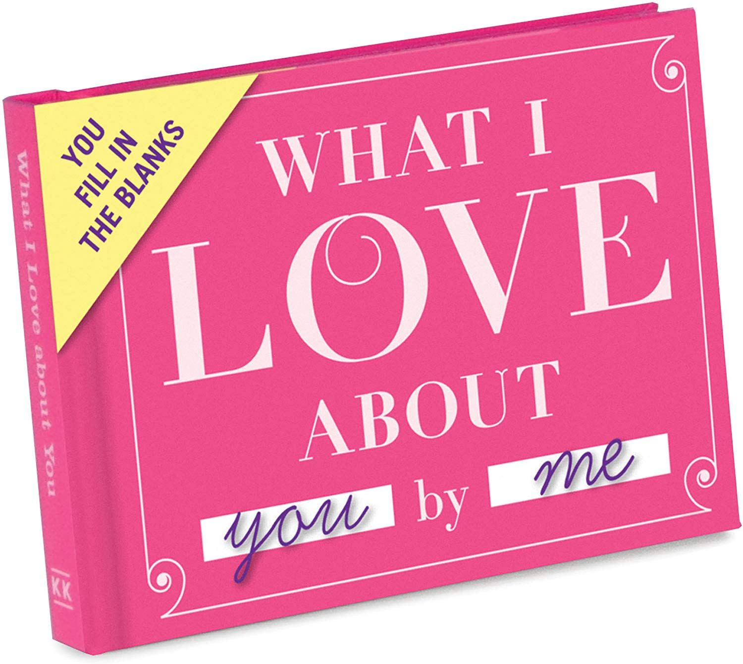 Knock Knock What I Love about You Fill in the Love Book - Fill-in-the-Blank Journal
