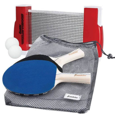 portable table tennis white elephant gift